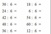 divisioni matematica