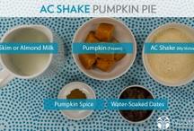 AC Shake pumpkin pie