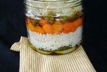 rtutto nel barattolo / riso e verdure in barattolo ma anche tante altre cose