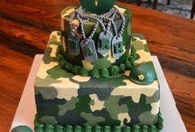 Army laser tag birthday