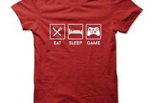Video Games Tshirt Design / Video Games Tshirt Design