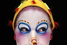 Make up cirque du Soleil