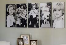 wall arrangement ideas / by Kim Walker Taylor