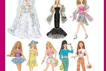 "Clothes for 12"" dolls / Doll clothes for Barbie dolls"