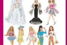 Játékbaba ruhák
