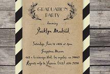 Graduation cards, invitations, etc