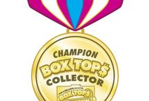 Things for Box Tops / ideas for promoting and rewarding Box Tops for education. / by Heather Adams