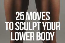 sculp lower body