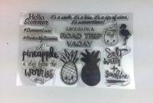 Stamp Sets / Stamps by Sandra Amelia