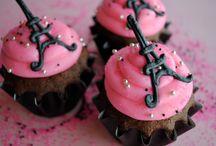 eiffel tornyos cupcake