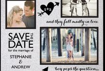 save the dates / by Dawn Mellor