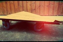Mobiler en bois/métal -  RétroSpective