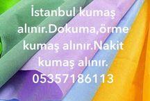 istanbul kumaş alanlar 05357186113