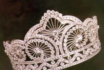 crowns and jewellery