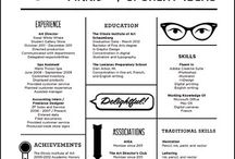 VISUAL.RESUMES / Resumes in Design