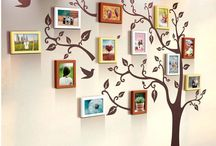 Creative wall photo frame