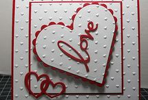 Carte di san valentino a mano