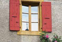 Exterior Shutters / Exterior window shutters
