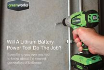 GreenWorks Freebies / Want to know more about #batterypowered power tools? Need help taking care of your lawn? Here's some tips! #lawncare / by GreenWorks Tools