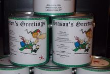 Create A Can / Samples of gift cans from my company! We create unique gift cans which are a great twist on a gift basket- personalization is always free! createacan.net