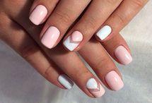 Νύχια με σχέδια ζιγκ ζαγκ