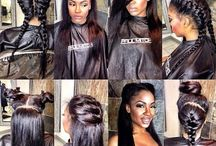 Sew Inspirational - Weave Installs / Protective Style with Sew-Ins!