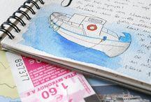 Travel notebook // Carnet de voyage