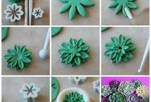 Полимерная глина, пластик