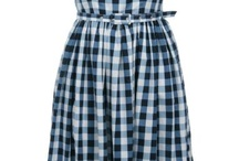Gingham and maybe a bit of plaid.