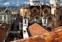 Middle of the world... ECUADOR