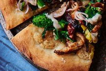 Pizza and Flatbreads, Plant-Based / Vegan pizza and flatbreads.