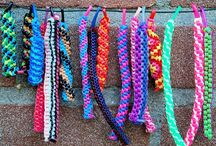 Scoobies / Scoobies are designer strings with which you can make many kinds of things like key chains, bracelets, bands etc.