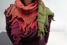 scarves knitted
