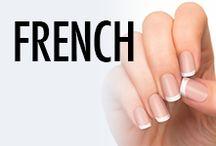 French Tip Nail Art & Nail Designs