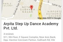 Step Up Dance Academy / Step Up Dance Academy has worked hard to become a synonym of Fitness Studio in Vile Parle Mumbai. See the ways in which you can get in touch with Arpita Ranadive's Step Up Dance Academy in Mumbai.  http://stepupdanceacademy.in/about-us/