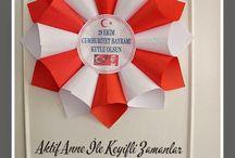 Bayrak Atatürk etkinlikleri