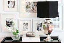 Esporre le fotografie  / Alcune idee carine e divertenti per esporre le immagini fotografiche in casa.