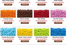 We Sell Sixlets / Find a variety of Sixlet Colors here at #BAKERSBODEGA