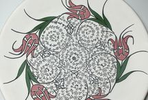 çini ve kaligrafi