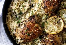 Greek chicken on rice / Chicken