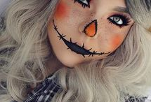 Halloweenský makeup