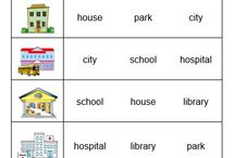 City Places Activities for Kids