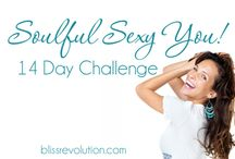 Soulful Sexy You Challenge / Creating a body and life you love should be fun! Join us for this 14 day challenge and discover how easy it is to feel sexy and radiant in your body!