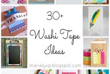 Washi Tape Crafts / There's so many things you can do with Washi Tape! Take a look at this board for inspirations!