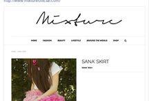 News & Updates for 2015. / Latest news for Sana' Ayoub's fashion line.