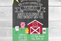 Old Macdonald Birthday Theme