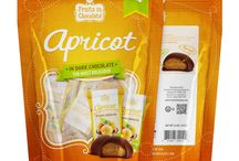 Dark Chocolate Covered Apricots / Dark Chocolate Covered Apricots, Individually Wrapped in a 6 oz Bag. Our luxurious combination of premium dark chocolate and the finest Mediterranean apricot is simply divine!