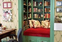 Book Nooks / We love book nooks! http://www.yellowkitebooks.co.uk/books/