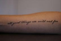 Tattoos (that I wanna get)