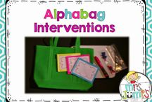 Early fives alphabet interventions